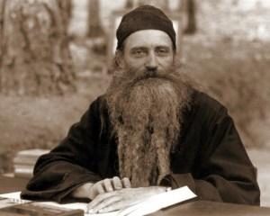 Părintele Serafim Rose de la Mănăstirea Platina - America
