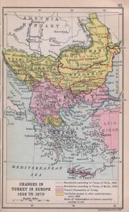 Balcanii la 1878