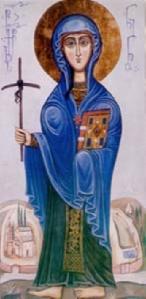Sfânta Nino, întocmai cu apostolii