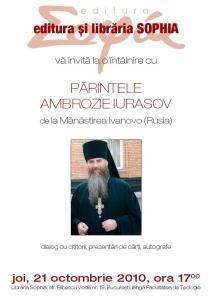 Paritele Ambrozie Iurasov