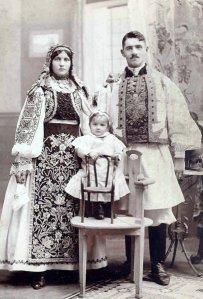Tânără familie din Banat
