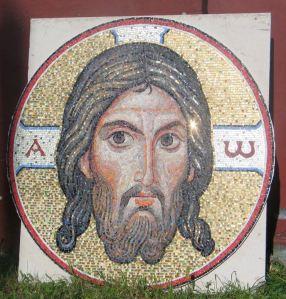 Mozaic, biserica Sfinților Apostoli Petru și Pavel din Ružany (BELARUS) , 2004.